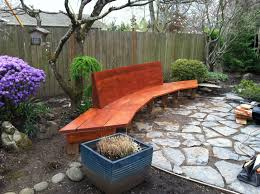 consider it done construction fancy backyard bench