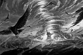 halloween raven background goth gothic magic dark crow raven fantasy wallpaper 1920x1280
