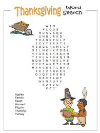 free top printable thanksgiving word search in pdf
