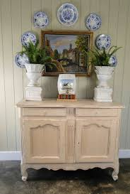 Antique Server Buffet by French Country Painted Antique Buffet And Server With Scalloped Apron