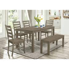 contemporary formal dining room sets dining table 7 piece dining set with bench formal dining room