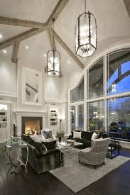 vaulted ceiling lighting ideas living room with cathedral ceiling