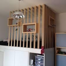 chambre ado avec mezzanine décoration intérieure aménagement rénovation et suivi de chantier