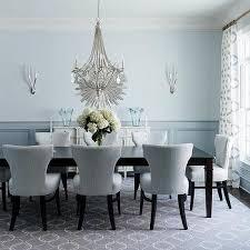 Light Blue Dining Room Chairs Light Tone Dining Room Design Ideas