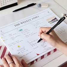 cool desk pad calendars 26 best weekly desk pad images on pinterest desk pad notebook