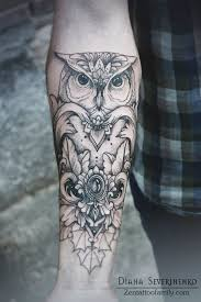 60 latest owl tattoos collection