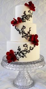 Big Wedding Cakes Best 25 Black White Cakes Ideas On Pinterest Red Big Wedding