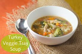 Thanksgiving Soups Turkey Veggie Tray U0026 Barley Soup Thanksgiving Leftover Recipe