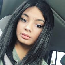kylie jenner style glueless lace front wigs indian remy hair short