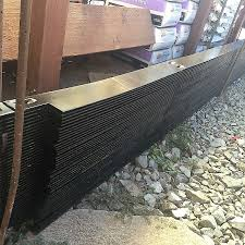 Steel Landscape Edging by Duraedge 4 U201d Black Bee Green Recycling U0026 Supply Oakland Ca