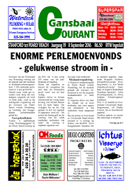 sep 8 2016 courant by gansbaai courant issuu
