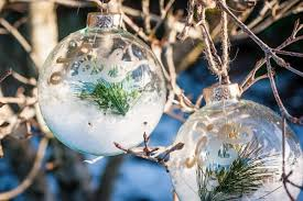 let it snow ornaments december diy challenge dwell beautiful