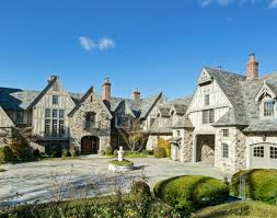 English Tudor Houses 30 Million English Tudor Stone Mansion In Kings Point Ny Homes