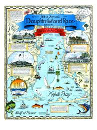 Amelia Island Florida Map by Dauphin Island Race Map Custom Map Art By Melissa Smith