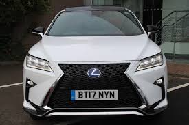 lexus dealers south yorkshire used 2017 lexus rx 3 5 f sport panroof u0026 heads up display pro pack