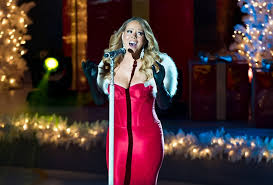 mariah carey attends the 81st annual rockefeller center christmas