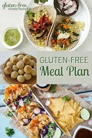 stove top gluten free gluten free meal plan july 30 gluten free homemaker