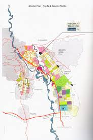 Greater Noida Metro Map by Project Features Master Plan Trustone