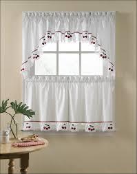 Tie Up Valance Kitchen Curtains Kitchen Tie Up Valance Kitchen Window Treatments Rustic Curtains