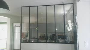 cloison vitree cuisine cloison vitre cuisine cheap verrire intrieure with cloison vitre