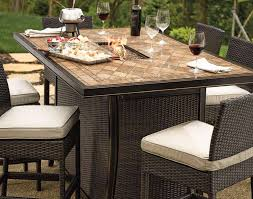 Bar Height Patio Chairs by Furniture Awesome Bar Height Fire Table Awesome Bar Height Patio