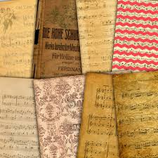 writing parchment paper music digital paper vintage music sheets paper old parchment this is a digital file