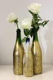 Decoration Vase Diy Glitter Vase For Nye Petal Talk