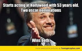 Funny Oscar Memes - 2013 oscar memes funny christoph waltz meme christoph waltz