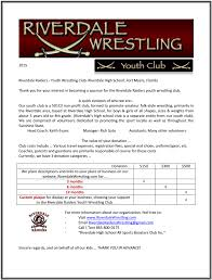 youth club riverdale wrestling