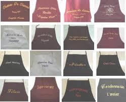 tablier cuisine personnalisé pas cher tablier de cuisine personnalisé unique image tablier cuisine