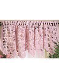 Free Curtain Patterns Crochet Pattern Central Free Window Accent Crochet Pattern Link