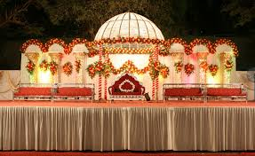 muslim backdrops simple stage decoration with clothes wedding backdrops stages