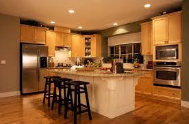 contemporary kitchen design chrome sink brown laminate floor dark
