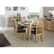 cuba oak square oak dining table with 4 chairs flintshire