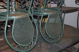 Refinish Metal Patio Furniture - refinish outdoor furniture before you put it away american dry