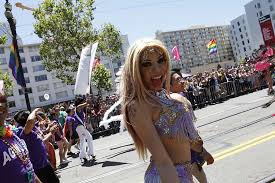 families diverse crowd on display at pride parade sfgate