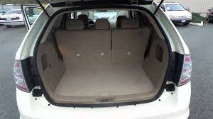 2007 ford edge creme brulee clearcoat stock 13322a trunk