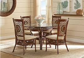 island sunrise brown 5 pc dining set 499 99 find affordable