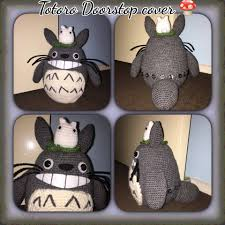 unique totoro doorstop cover only unfilled door stop home