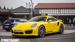 Porsche 911 Yellow Bird - porsche 911 turbo s could be the fastest taxi in the world