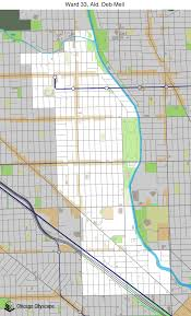 40th ward chicago map map of building projects properties and businesses in 33rd ward