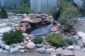 preformed ponds great way to landscape your yard