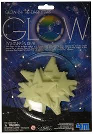 amazon com 4m 5143 glow in the dark mini stars pack of 60 toys