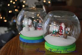fussy monkey business d s c c w waterless snow globe