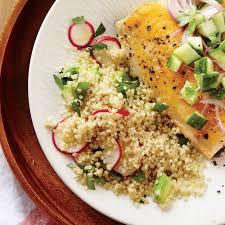 radish and avocado quinoa salad recipe myrecipes