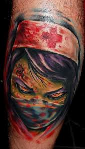 24 scary tattoo designs images and picture gallery