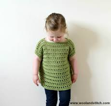 mini kids open work top u2013 free crochet pattern u2013 wool and stitch