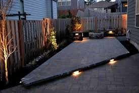 Patio Paver Lights Paver Patio Lighting Home Design Inspiration Ideas And Pictures