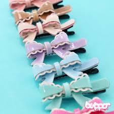 ribbon hair clip ribbon hair clip blippo kawaii shop