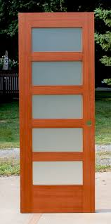 wenge frosted center glass wood interior shaker doors frosted glass george arnold blg